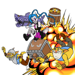 Jinx and Techies love explosions! by Jonerico