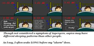 Aspie Comix: Sleep by Ispod4