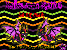 Halloween Rattus Banner made for Angel14 by Pinktiger1978