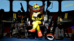 Toy Chica the Administrator's assistant by TalonDang