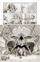 Adventure Comics pages by manapul