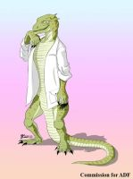 COM : Lizard Scientist by whiteguardian