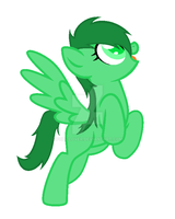 Emerald (Steven Universe OC) ponified by pupizlover