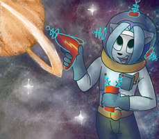 COMMISSION: Frost in Space by prismaya