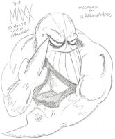 The Maxx 10 Minute Sketch by MonkeySquadOne