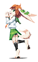 Commission - School Suit Milla by goshaag