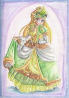 Masquerade gown by Lady-of-Link