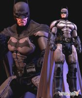 Batman Arkham Origins Dark Knight DLC by Sticklove