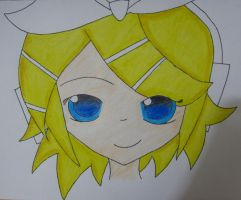 Kagamine Rin by bookworm0608