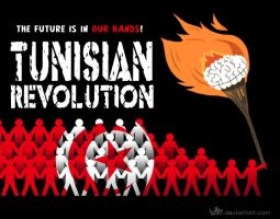 Tunisian Revolution by tuffix
