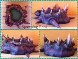Starcraft - Spawning Pool Papercraft by stange1337