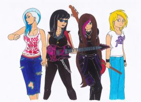 Unnamed All Female Death Metal Band by eminem417