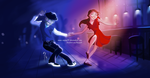 Lindy Hop Dancer by Nippy13