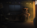 One Bad Dream at Fredbear's Family Diner by NickinAmerica