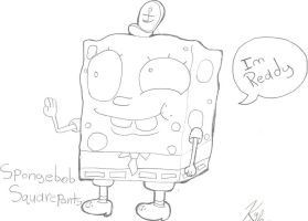 Spongebob Drawing by Blaster227