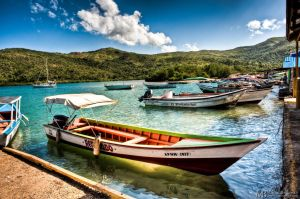 Mochima harbour by Yupa