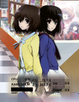 Twin Misaki (Another) Rainmeter by Saint91Xtreme