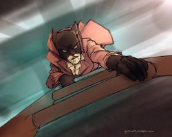 Blacksad sketch by DarrenGeers