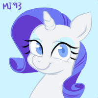 Filly Rarity by KimGoma