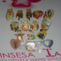 SAILOR MOON PINS COLLECTION by prinsesaian