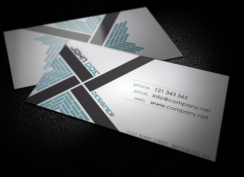 X-Style Business Card by HekiaDesign