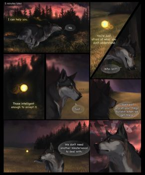 Harbinger- Page 3 by AwJeez