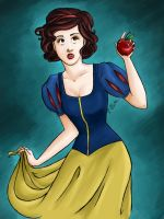 Disney: Snow White by clarkey-lou