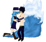 Fairy Tail - Ice and Water by The-Zodiac-Dragon