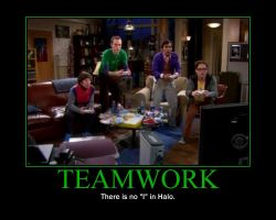 Teamwork Motivational Poster by QuantumInnovator