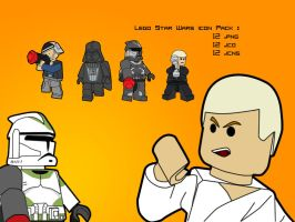 Lego Star Wars Icon Pack by Moupijmo