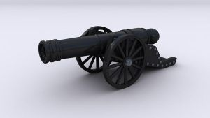 Cannon by undeathspawn