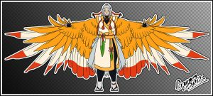 Shiny Ho-Oh Cosplay Concept .:EDIT:. by Dragara