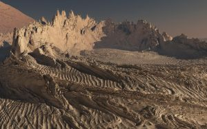 Landscape: Impact Crater 02 by CorporalNobbs
