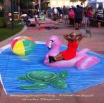 3D Pool Toys by AmazingStreetPaint