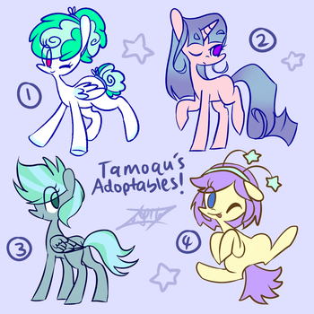 #3 Adoptables (OPEN) by Tamoqu