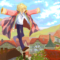 howl's moving castle by chupachup