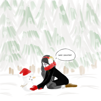 Making a Snowman... by foreverthelastone