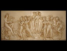 Music Dance Wall Relief by FantasyStock