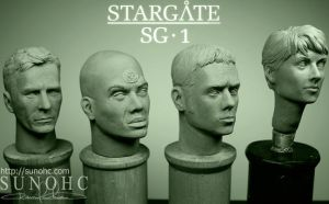 Stargate SG-1 Team 2 by sunohc