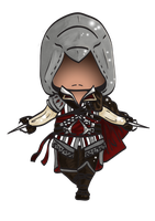 Chibi Ezio by Kabuto4Ever