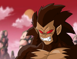 SaiaSaru Ascended form by Moffett1990