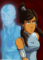Korra: Teenage Angst by Mattierial