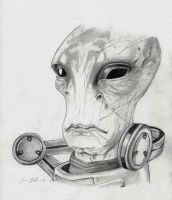 The Very Model of a Scientist Salarian by Godisinvincible