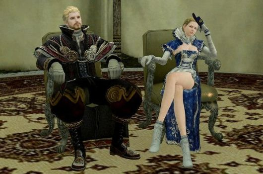 ArcheAge King with Queen by archeagestore