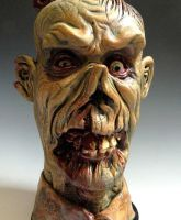 Zombie Jug detail by thebigduluth