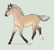 2941 Foal Design -recycled ID by ANIMALGIRL1869