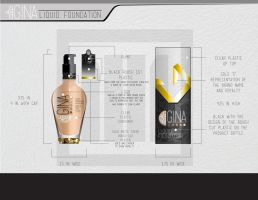 Gina Liquid Foundation Concept by artsupremacy