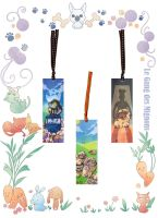 Japan expo 2014 goodies Sheep bookmark by Tcim-mouton