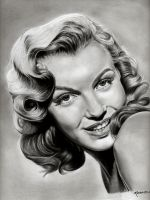 marilyn monroe by paulinamarin