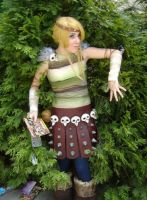 Astrid HTTYD Costume 2 by msventress